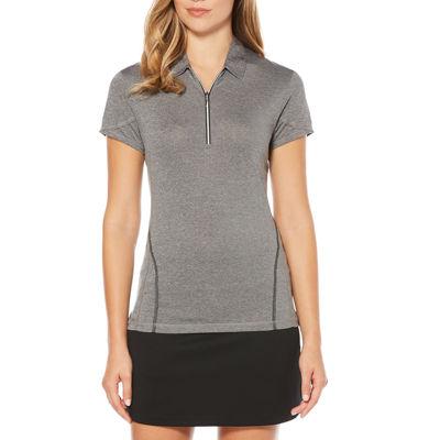 PGA TOUR Easy Care Short Sleeve Jersey Polo Shirt