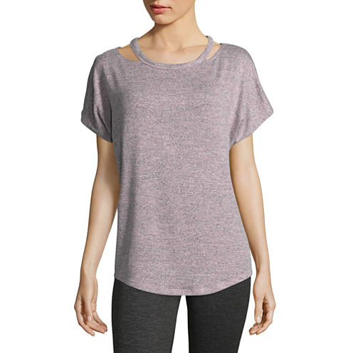Xersion Studio Cutout Dolman Tee