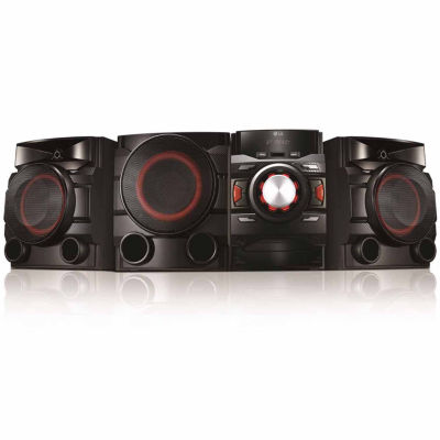 LG 2.1 Channel 700W Mini Shelf System with Built-in Subwoofer and Bluetooth