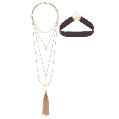 Bijoux Bar Womens Choker Necklace