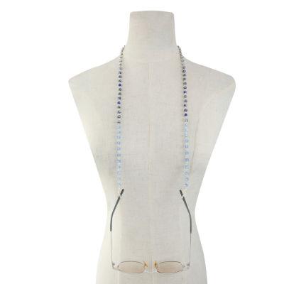 Liz Claiborne Blue Beaded Necklace