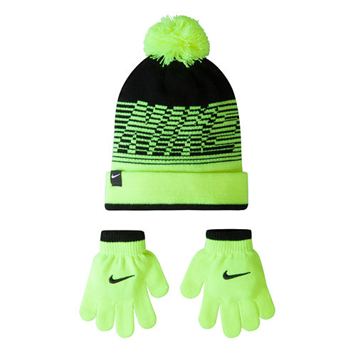 Nike Velocity Hat & Glove Set - Boys