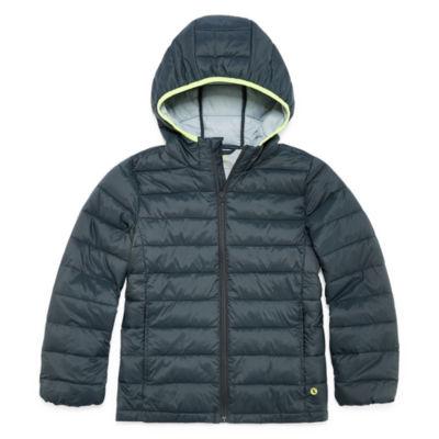 Xersion Puffer Jacket - Boys Husky