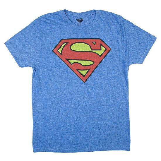 DC Superman Logo Graphic Tee