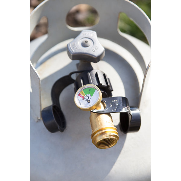Outset BBQ Propane Level Gas Gauge Type 1 Connection