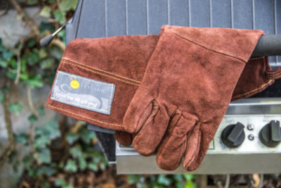 Outset BBQ BBQ Leather Grill Gloves