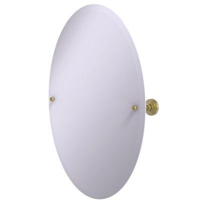 Allied Brass Frameless 21-Inch x 29-Inch Oval Tilt Mirror