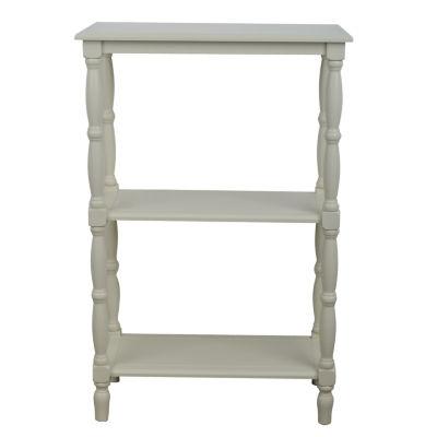 Decor Therapy Simplify 3-Shelf Bookshelf