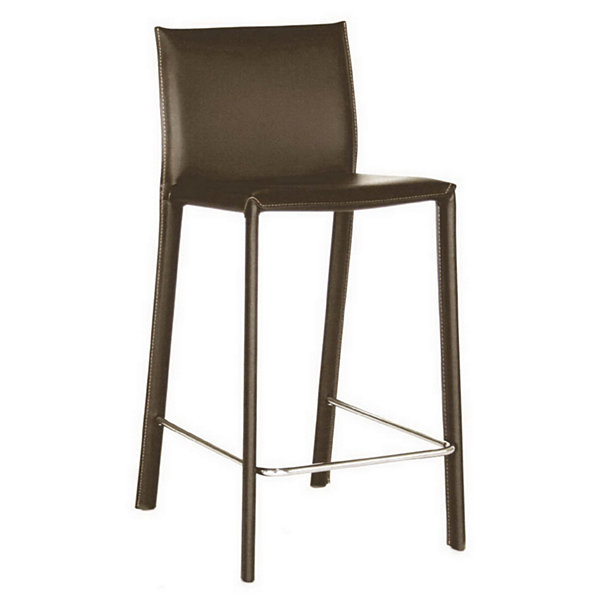 Baxton Studio Crawford 2-pc. Upholstered Bar Stool