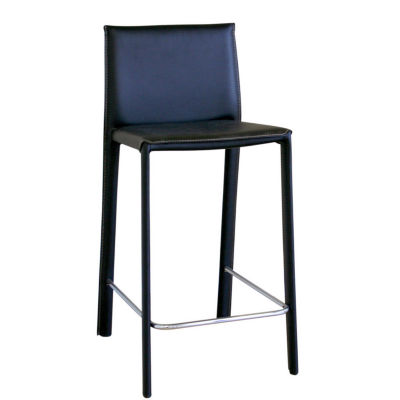 Baxton Studio Crawford Counter Height 2-pc. Upholstered Bar Stool