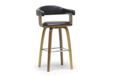 Baxton Studio Quigley Counter Height Bar Stool