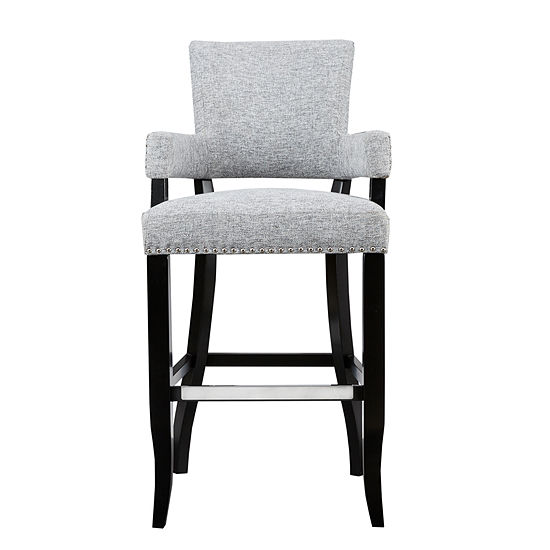 Madison Park Parler Arm 30-Inch Bar Stool