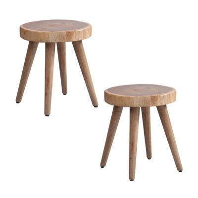 INK + IVY Arcadia Set of 2 Dining Stools