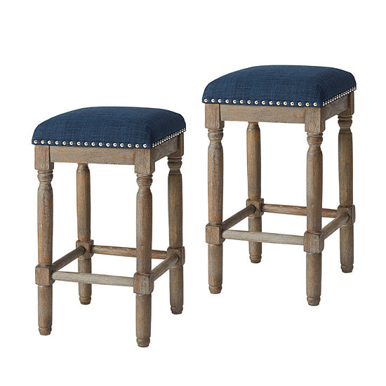 Madison Park Tiver Stool Set Of 2