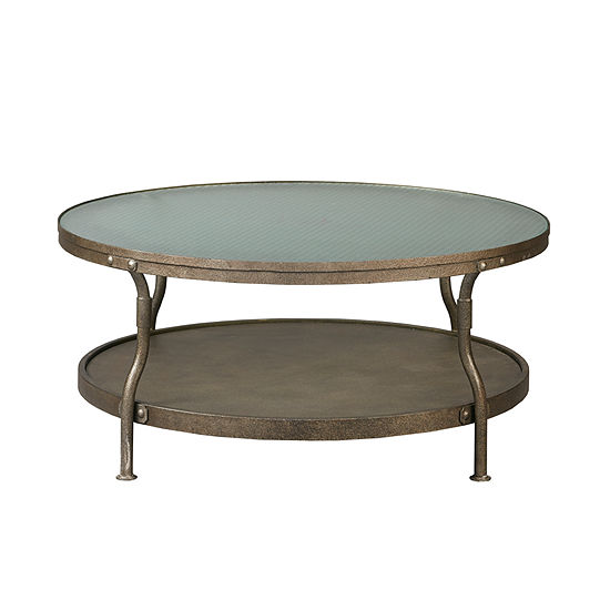 Ink Ivy Cambridge Round Coffee Table