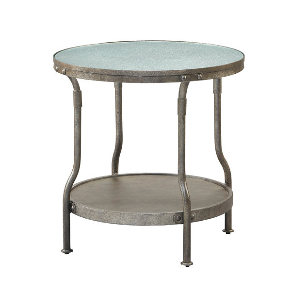Ink + Ivy Cambridge Round End Table