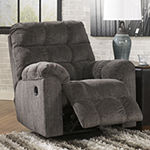 Signature Design by Ashley® Lufkin Pad-Arm Recliner