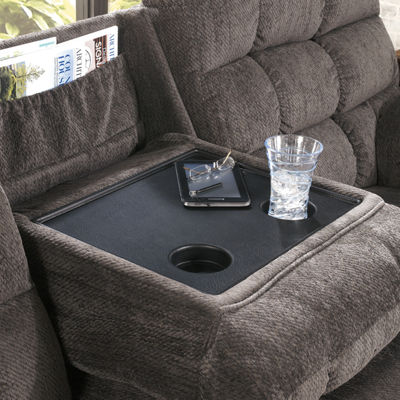 Signature Design by Ashley® Lufkin Pad-Arm Reclining Sofa