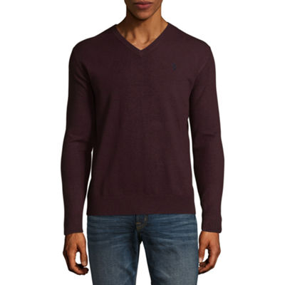 U.S. Polo Assn.® Long Sleeve Stretch V-Neck Sweater
