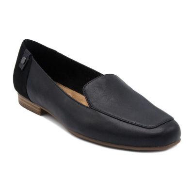 Gloria Vanderbilt Womens Marjorie Slip-On Shoes Slip-on Square Toe