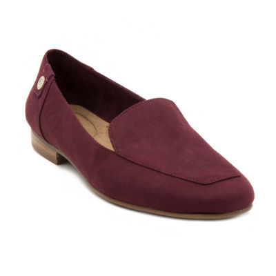 Gloria Vanderbilt Womens Marjorie Square Toe Slip-On Shoe