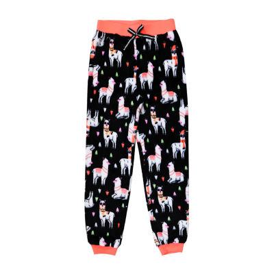 Arizona Jogger Fleece Llama Sleep Pant - Girls 4-16