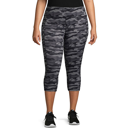 Xersion Camo Womens Workout Pant - Plus