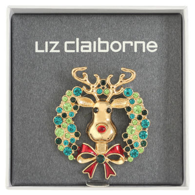 Liz Claiborne Green Pin