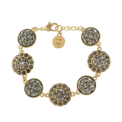 Liz Claiborne Gold Tone Cable Chain Bracelet