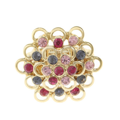 Monet Jewelry Womens Multi Color Stretch Ring