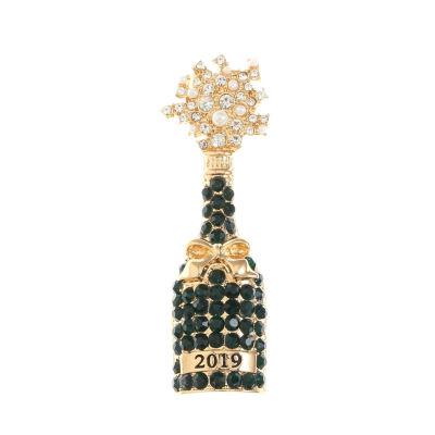 Monet Jewelry Green Pin