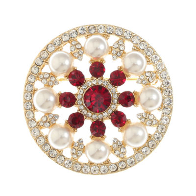 Monet Jewelry Red Pin