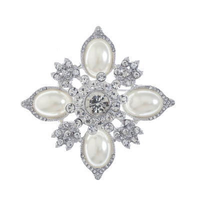 Monet Jewelry Clear Pin