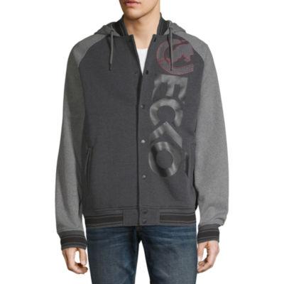 Ecko Unltd Hooded Heavyweight Fleece Jacket
