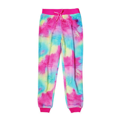 Arizona Jogger Fleece Tie Dye Sleep Pant - Girls 4-16