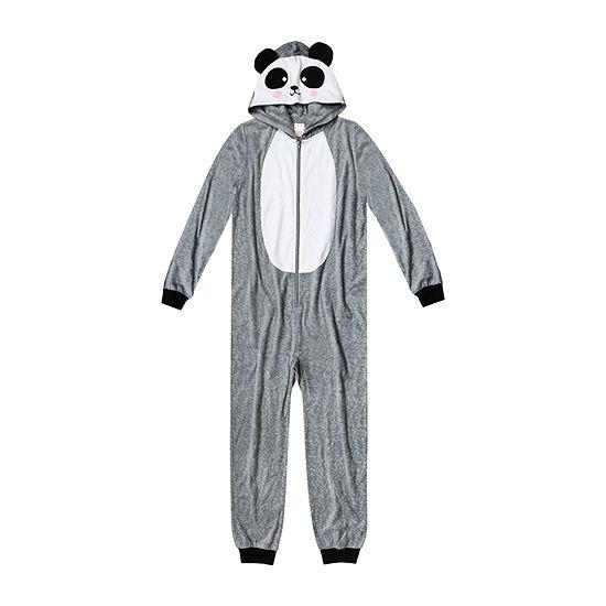 Arizona Panda One Piece Pajama - Girls 4-16