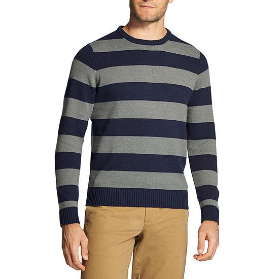 IZOD Sweaters Crew Neck Long Sleeve Pullover Sweater