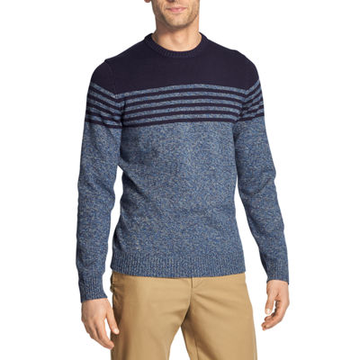 IZOD Sweaters Mock Neck Long Sleeve Pullover Sweater