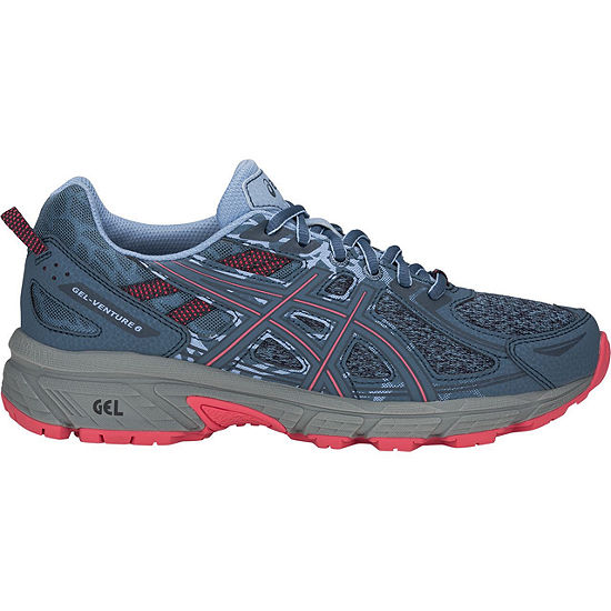 Asics Venture Trail 6 Mx Womens Lace-up Running Shoes
