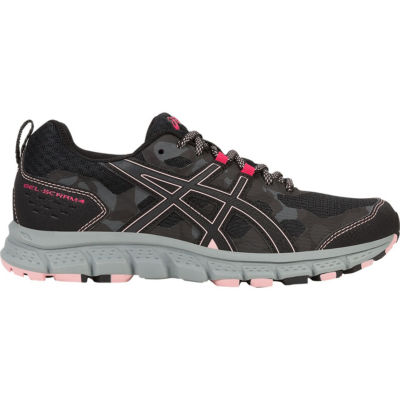 Asics Scram 4 Womens Running Shoes Lace-up