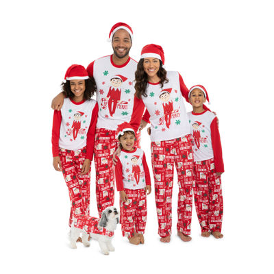 Elf On The Shelf Family Pajamas