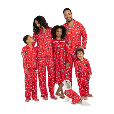 Mickey/Minnie Family Pajamas