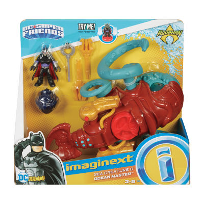 Imaginext Sea Creature & Ocean Master