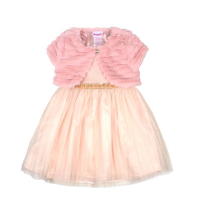 Nanette Baby 2-pc. Jacket Dress Toddler Girls