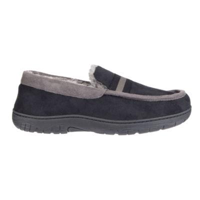JF J.Ferrar Men's Moccasin Slippers