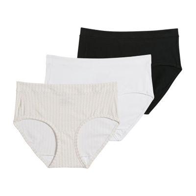 Jockey Modern Cotton Stretch 3 Pair Knit Hipster Panty 1551