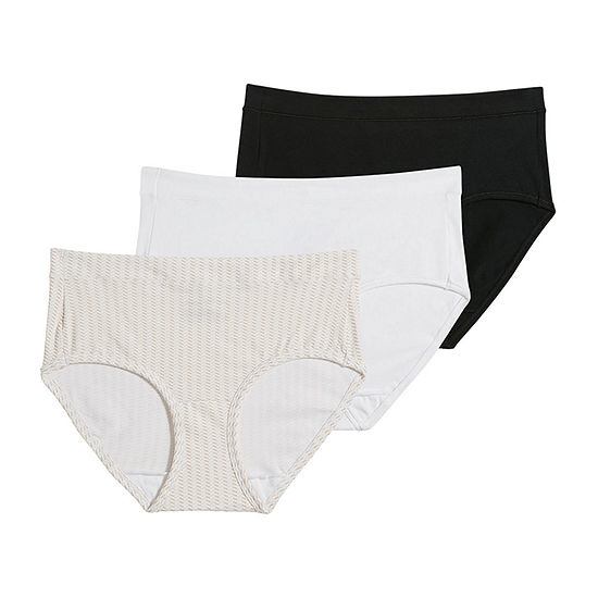 Jockey Modern Cotton Stretch 3 Pair Knit Hipster Panty 1551