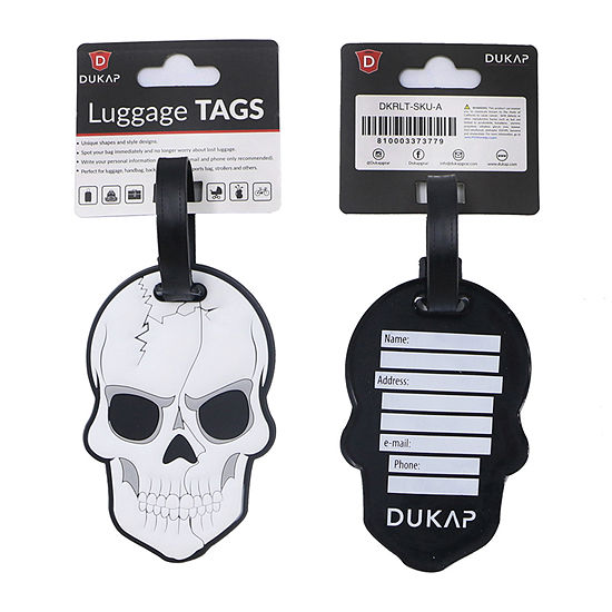Dukap Accessories 2-pc. Luggage Tag
