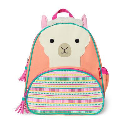 Skip Hop Llama Zoo Activity Girls Animal Backpack