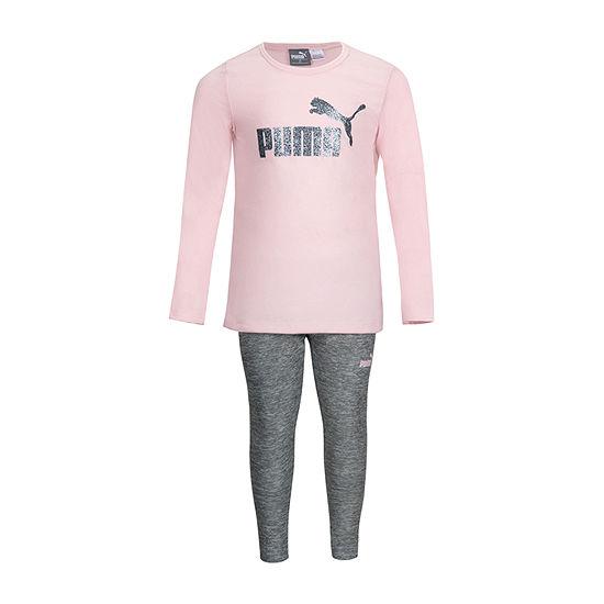 Puma Girls 2-pc. Legging Set-Toddler